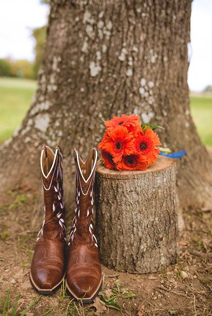 Real country wedding of Alyssa Stone