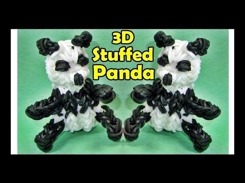 Rainbow Loom 3d Panda Ag Doll Accessory Designed And