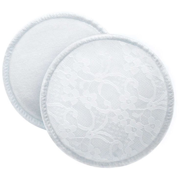 Philips AVENT Washable Breast Pads have a brushed cotton lining which is soft and gentle and features an absorbent layer which draws moisture away from the skin behind a leak proof liner. SCF155/06