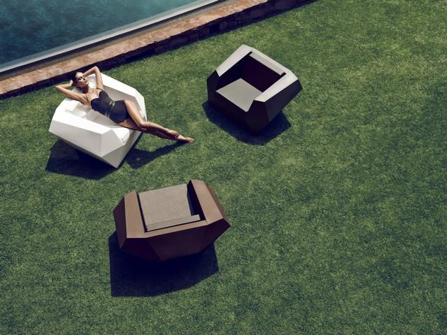 FAZ Lounge Chair Ramon Esteve For Vondom