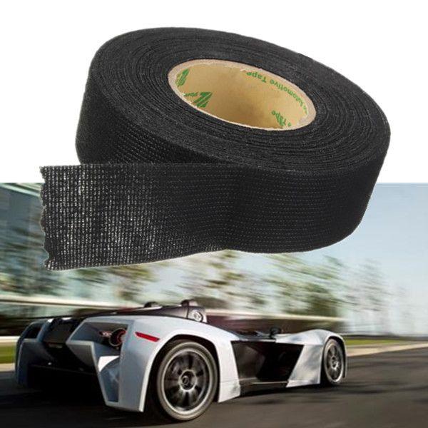 Qualità eccellente 25mm x 10 m Tesa Panno Adesivo Coroplast Tape Per Cavo del Cablaggio elettrico Loom Cablaggio Auto nastro