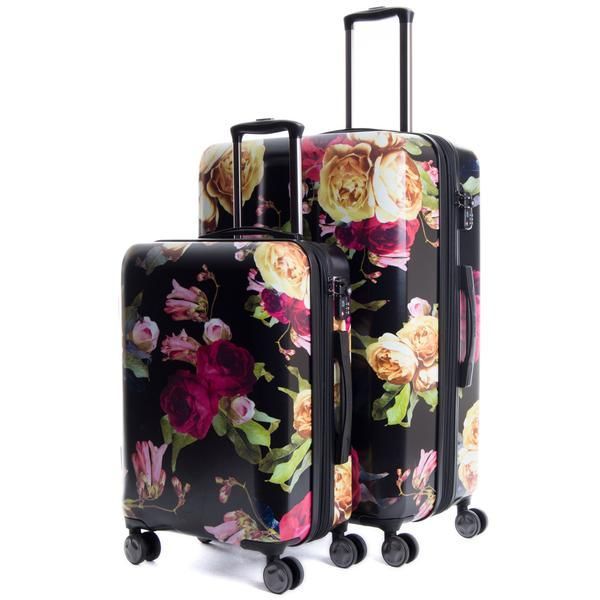 Dark Floral Luggage. Shop CalPak for modern hard-sided lightweight expandable luggage. Choose from a great selection of stylish luggage sets available in a variety of colors.
