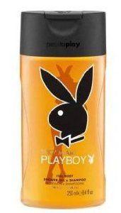 Playboy Men Full Body Shower Gel & Shampoo - Spicy Miami 250ml., by Playboy. $17.99