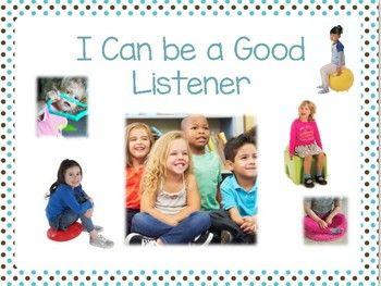 I Can be a Good Listener Social Script
