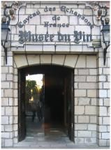 Learn All About Wine History at This Fascinating Paris Museum: The entrance to the cellar at the Musee du Vin.