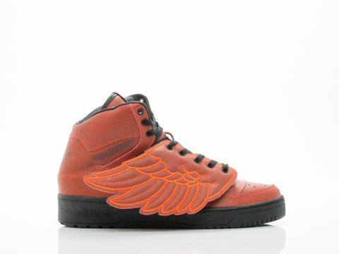 WINGS BBALL MENS BY ADIDAS X JEREMY SCOTT Leather upper and lining, man  made sole
