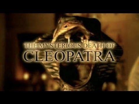 Tajemná smrt Kleopatry -dokument (www.Dokumenty.TV) cz / sk - YouTube