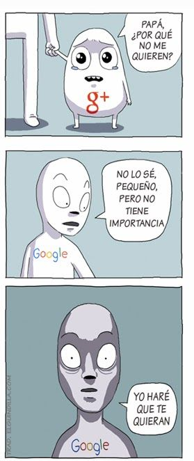 Papa, por que no me quieren??... #humor #google+