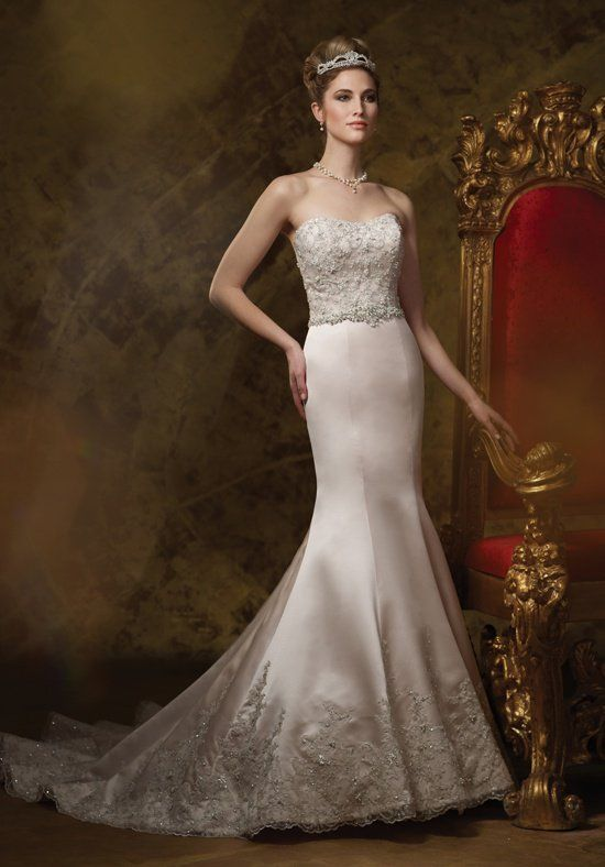 James Clifford Collection J21462 Wedding Dress - The Knot