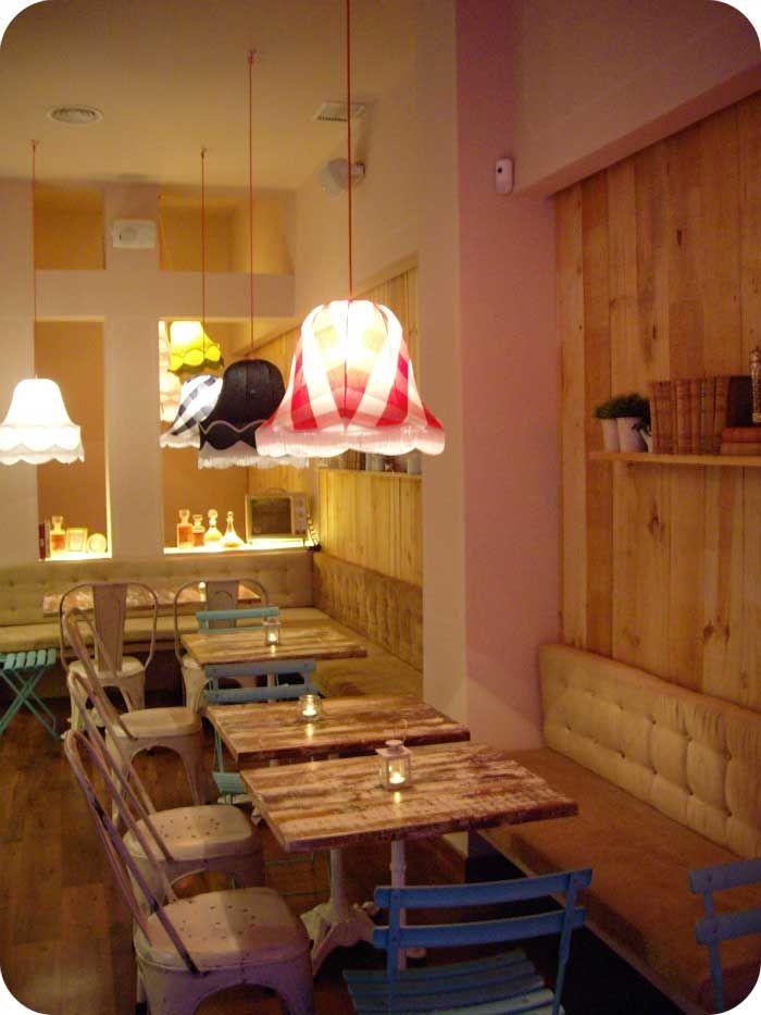 Imágenes de decoración para cafeterias. Imágenes de arquitectura interior
