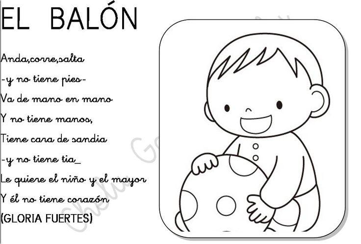 El balón - Gloria Fuertes