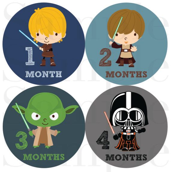 Baby Boy Month Stickers, Monthly Bodysuit Stickers, Baby Monthly Stickers by Month - Space Heros Onesie Stickers for Boys on Etsy, $12.00
