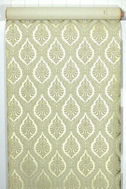 Unsere Vintage Tapete wird von den Hof verkauft.  Diese authentischen Vintage Tapete gedruckt wurde in den 1970er Jahren. Es ist die tatsächlichen