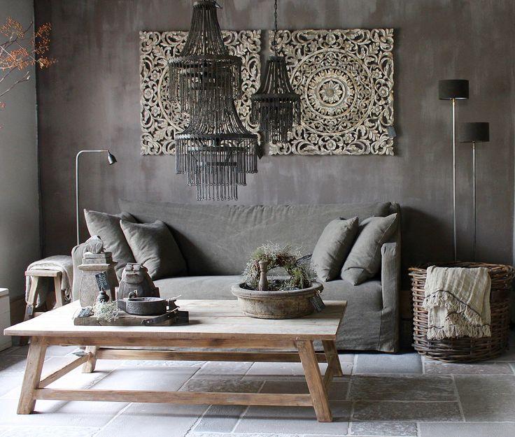25 beste idee n over landelijke woonkamers op pinterest rustieke bank woonkamerstijlen en - Sofa landelijke stijl stijlvol ...