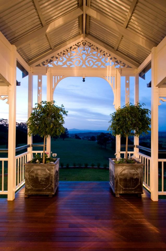 Our high portico with extended verandah creates and impressive entry.