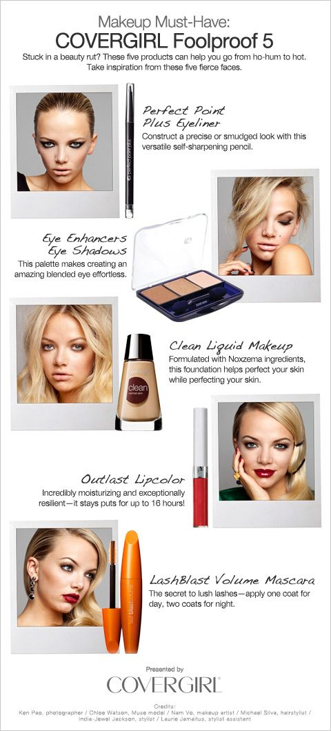 Makeup Must Haves — Cover Girl's Foolproof 5
