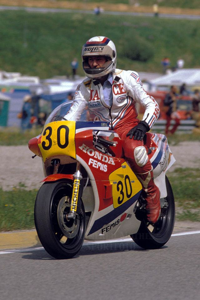 Jack Middelburg (1952 - 1984) was a Dutch professional Grand Prix motorcycle road racer. Together with Wil Hartog and Boet van Dulmen, he was part of a contingent of Dutch riders who competed at the highest levels of Grand Prix racing in the late 1970s.[1] Middelburg never earned a factory-sponsored race bike, yet managed to post some impressive results. He became the second Dutchman to win the Dutch TT in 1980, and in 1981 he beat Roberts at Silverstone.
