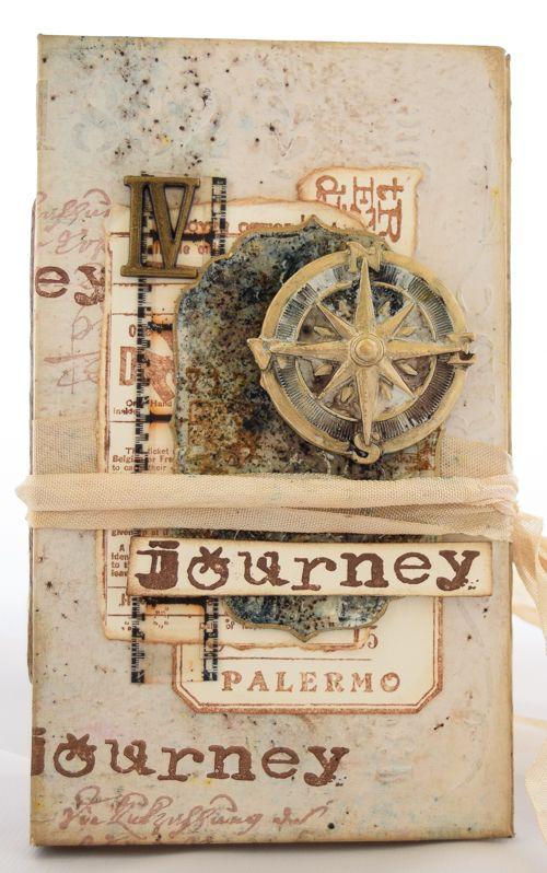 PaperArtsy: 2017 #6 Travel Journal {by Jennie Atkinson}
