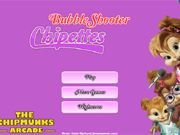 Chipettes Bubble Shooter    Since Alvin and The Chipmunks had their own bubble shooter game, Brittany wanted a game for The Chipettes. So join Brittany, Jeanette and Eleanor in this classic bubble shooter game with a Chipettes theme. Aim the arrow to burst the matching Chipettes bubbles, in order to burst the bubbles you will need at least three of the same Chipettes. Compete with your friends and family in this high score Chipmunk game. use your mouse to aim and shoot.  ht