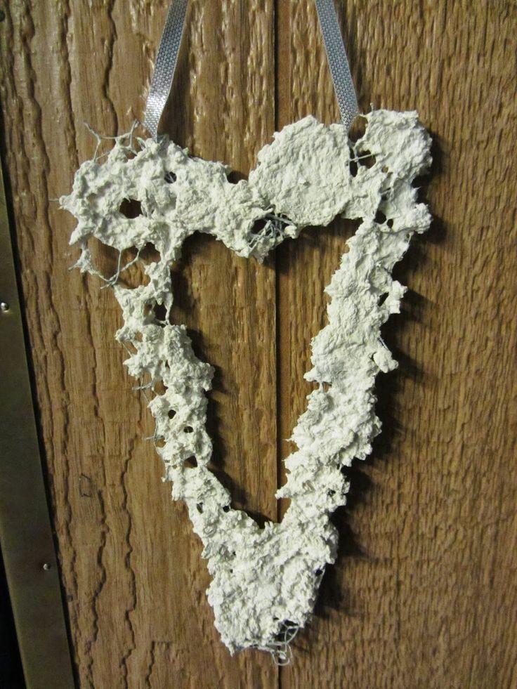 Kuvahaun tulos haulle paperimassa sydän kanaverkko
