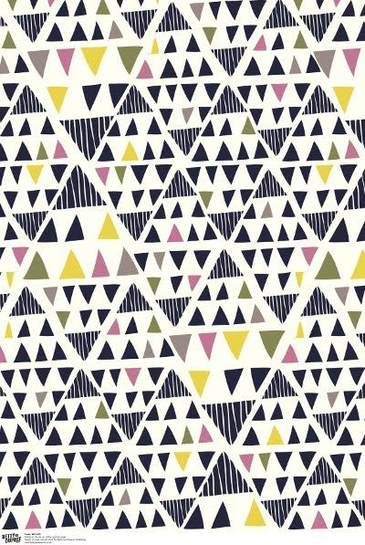 Fun gift wrap design by Leah Duncan (via Print & Pattern)