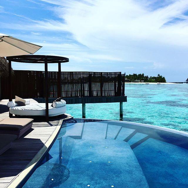 たまらん。天国。👼 #Maldive #W #resortstyle