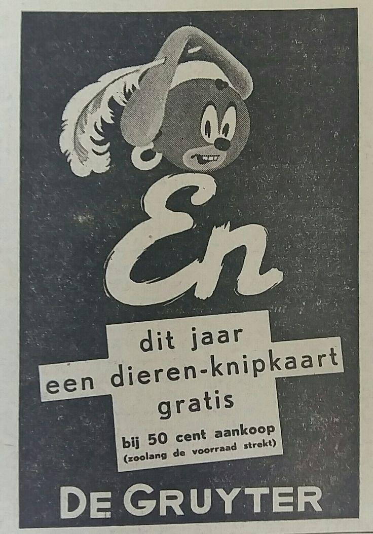 De Gruyter, advertentie 1940