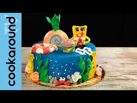 Tutorial per decorare la torta Sirenetta di Greedy Mermaid Cake sugar paste - YouTube