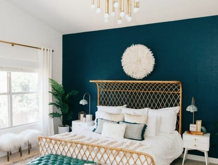 Emejing Chambre Bleu Canard Pictures - Design Trends 2017 ...