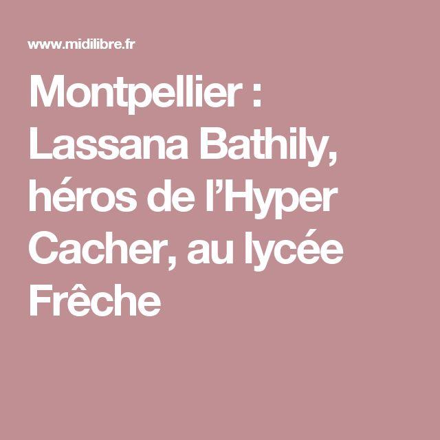 Montpellier : Lassana Bathily, héros de l'Hyper Cacher, au lycée Frêche