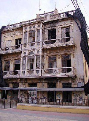 48 Palacete Ponce modernista de 1925_junto al Malecón, esidencia de Jara carrillo, deribado en 2009