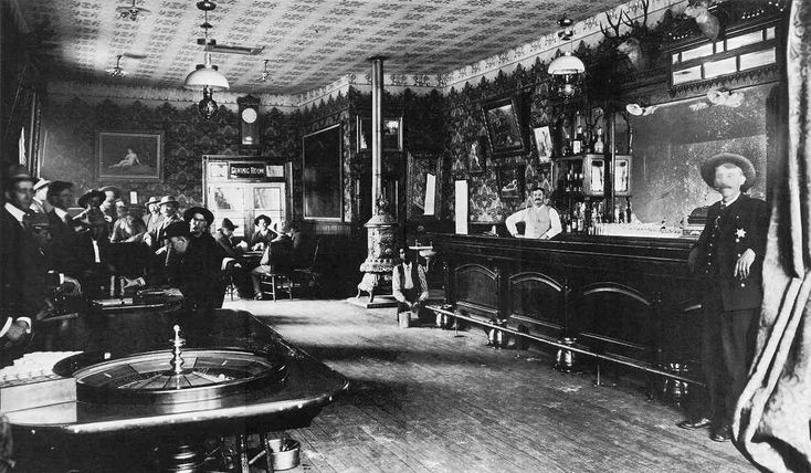 The Cosmopolitan Saloon in Telluride, Colorado  Collection of Fred and Jo Mazzulla  This Fabulous Century: 1900-1910, pp. 44-45