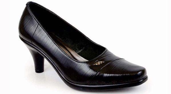 Sepatu kerja wanita formal sepatu pantofel wanita branded murah terbaru 145.S19