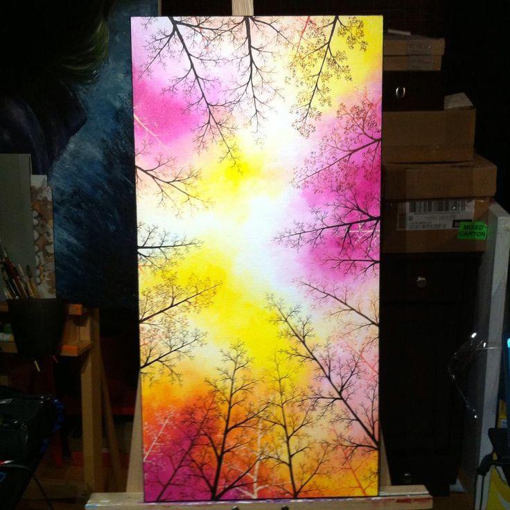 Tree Painting 2 -By Lunnie on DeviantART https://www.instagram.com/moobrains/