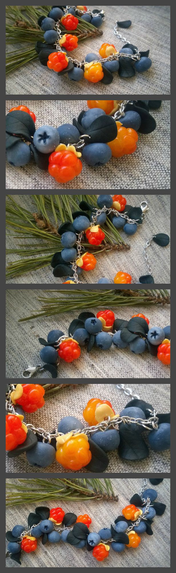 #berries #polymerclay #berry #cloudberry #blueberry #fimo #fimoeffect #fimoclay #etsy #staedtler #summer #hobby #handmade