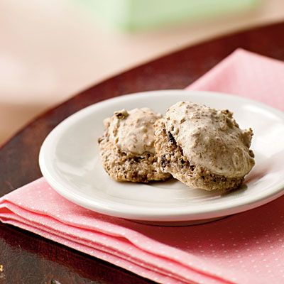 2 Fig-Pecan Macaroons, only 86 calories. & more sweet recipes under 150 calories.
