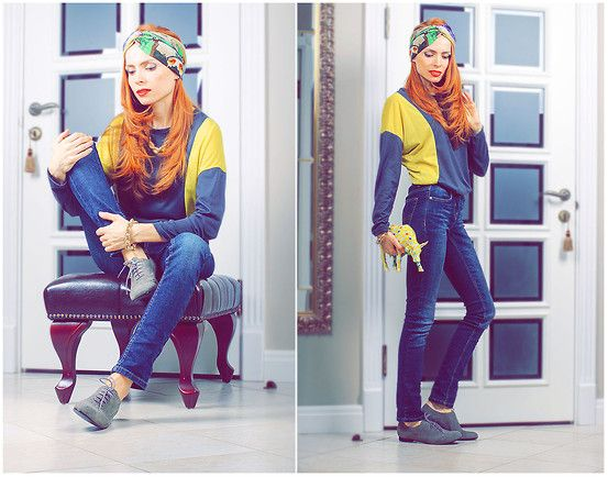 Indian..... (by Tini Tani) http://lookbook.nu/look/4712953-Indian  From the app chic feed...but I really love love the head scarf!!