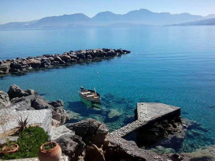 Votsalo beach, Agios Nikolaos, Crete, Greece