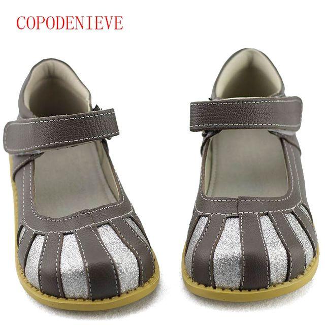 Big Discount $10.00, Buy COPODENIEVE Children School Uniform Shoes Girls Dress Shoes bowtie Black Leather shoes Pretty Comfortable For Kid Grils
