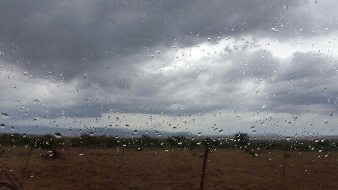 Rain down in Africa