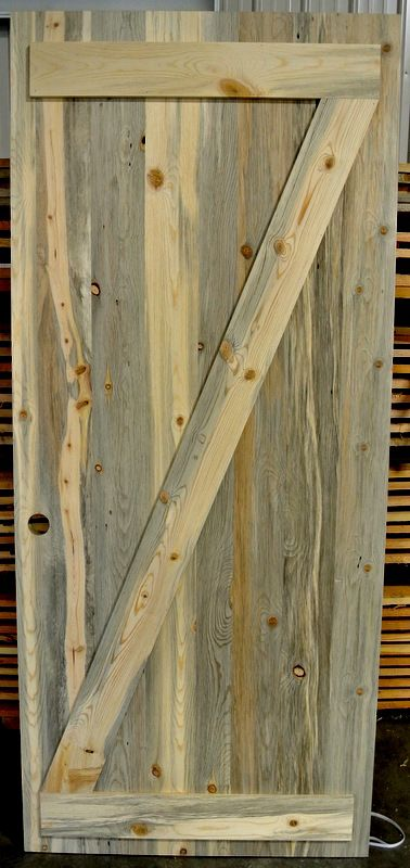 Hand Crafted Beetle Kill Pine Doors From Sustainable