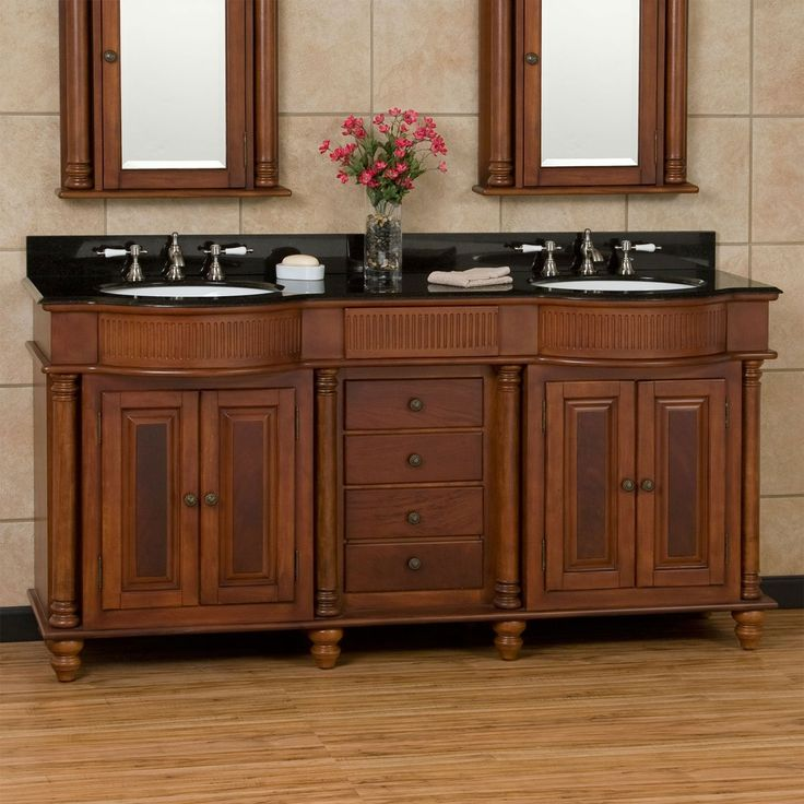 37 Best Images About Bathroom Ideas For Cherry Vanity On Pinterest Double Sinks Cabinets And