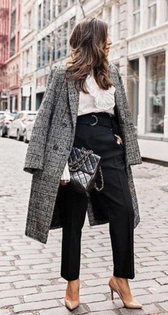 Trends Winter Outfits Women For Work Office In This Year 20