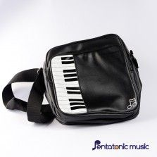 Piano and Note Sling Bag