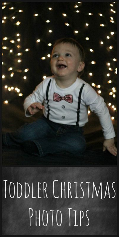 Toddlers aren't the easiest to photograph!  Here are some simple tips for getting gorgeous Christmas photos at home.
