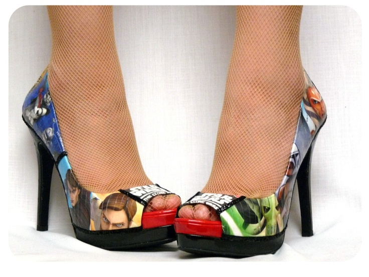 DIY: Decoupage Shoes