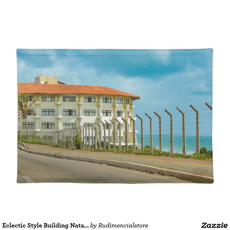 Eclectic Style Building Natal Brazil