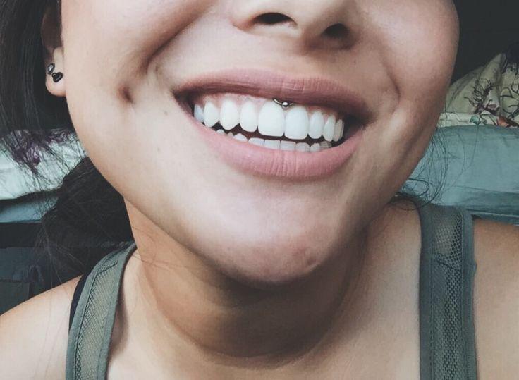 my smiley piercing!                                                                                                                                                                                 Plus