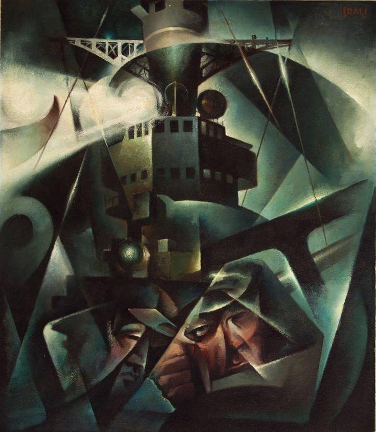 Tullio Crali I naviganti 1934