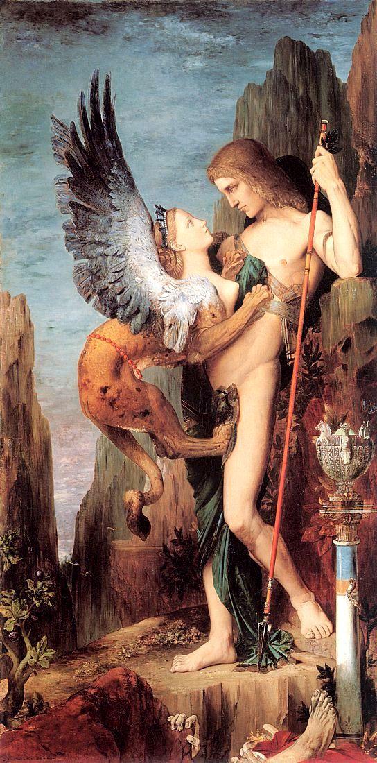 Edipo - Mitologia greca - Mito di Edipo e di Giocasta - www.elicriso.it